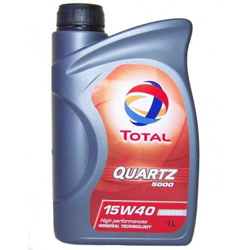 TOTAL QUARTZ  5000 15W40 x1L