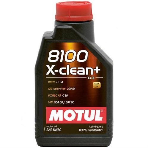 MOTUL 8100 X-CLEAN+ 5W30 x1L