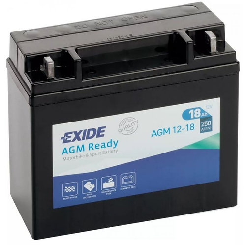 Акумулатор EXIDE Maintenance Free AGM 12-18
