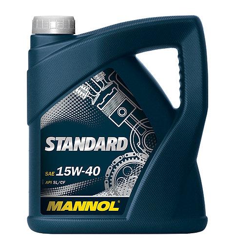 MANNOL STANDART 15W40 x4L