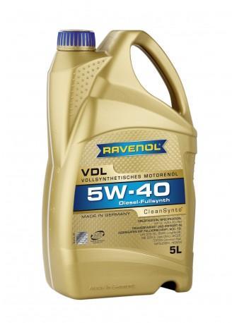 RAVENOL VDL 5W40 x5L