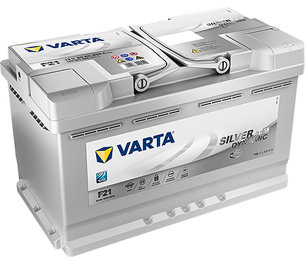 Акумулатор VARTA Silver Dynamic AGM 580 901 080