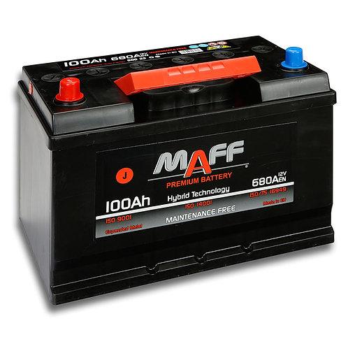 Акумулатор MAFF 60033 100Ah 680A