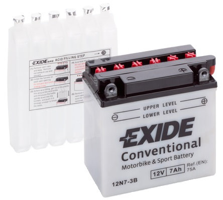 Акумулатор EXIDE Conventional YB7L-B