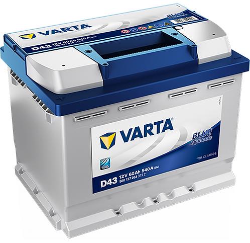 Акумулатор VARTA Blue Dynamic 560 127 054