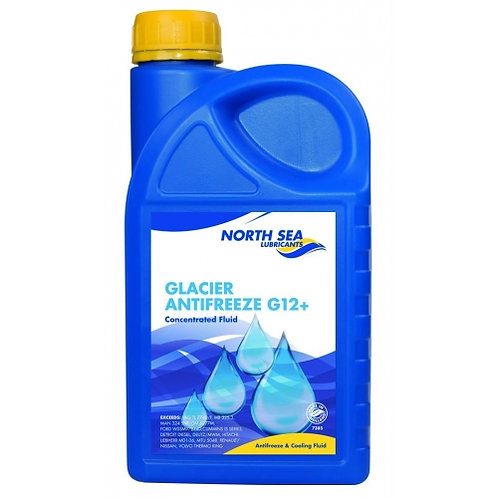 NORTH SEA GLACIER ANTIFREEZE G12+ (червен) -80ºC x1L