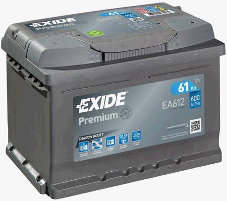 Акумулатор EXIDE Premium *** EA612