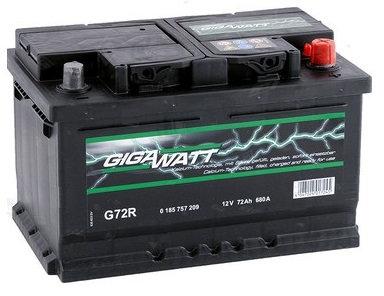 Акумулатор Gigawatt G72R