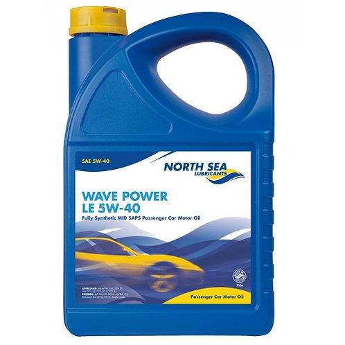 NORTH SEA  WAVE POWER LE 5W40 x4L