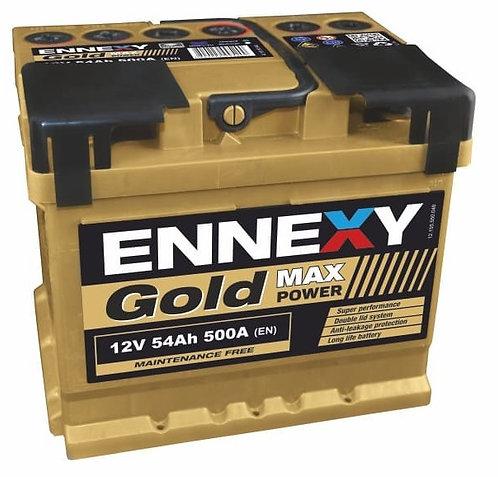Акумулатор ENNEXY GOLD Max Power 54Ah