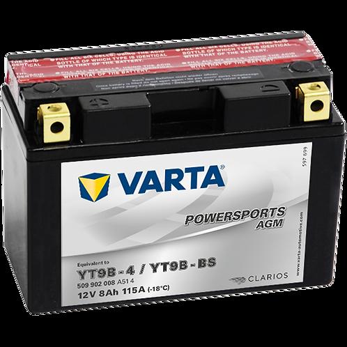 Акумулатор VARTA POWERSPORTS AGM 509 902 008 YT9B-BS