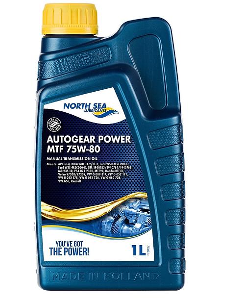 NORTH SEA AUTOGEAR POWER MTF 75W80 x1L