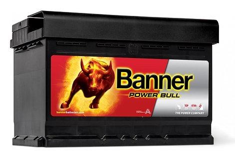 Акумулатор BANNER POWER Bull P72 09