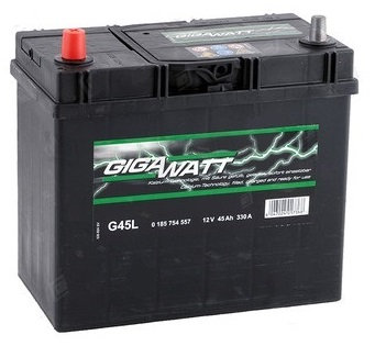 Акумулатор Gigawatt G45L