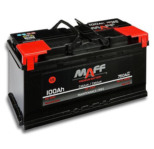 Акумулатор MAFF 60080 100Ah 760A