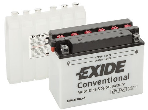 Акумулатор EXIDE Conventional E50-N18L-A Y50-N18L-A
