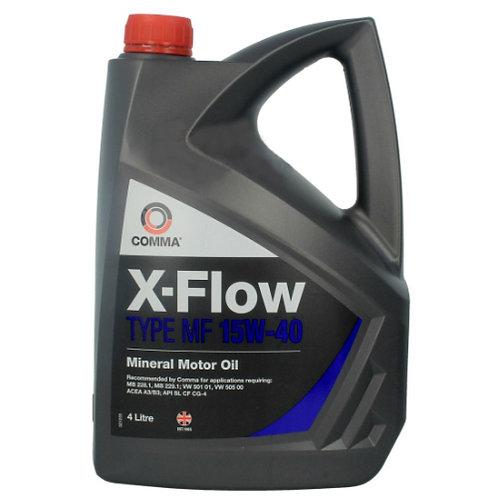 COMMA X-FLOW TYPE MF 15W40 x4L