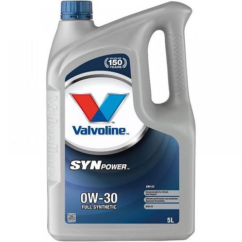 VALVOLINE SYNPOWER ENV C2 0W30 x5L