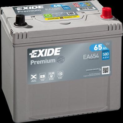 Акумулатор EXIDE Premium *** EA654