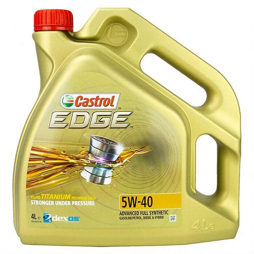 CASTROL EDGE TITANIUM 5W40 x4L