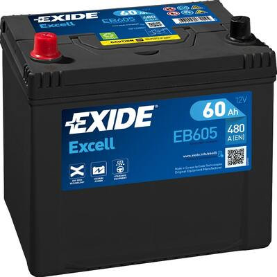 Акумулатор EXIDE Excell ** EB605