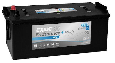 Акумулатор EXIDE Endurance PRO GEL ED2103