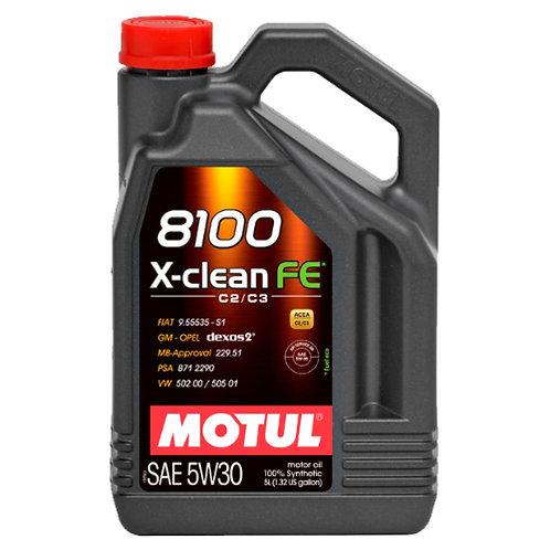 MOTUL 8100 X-CLEAN FE 5W30 x5L