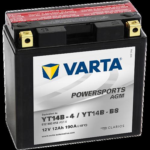 Акумулатор VARTA POWERSPORTS AGM 512 903 013 YT14B-BS