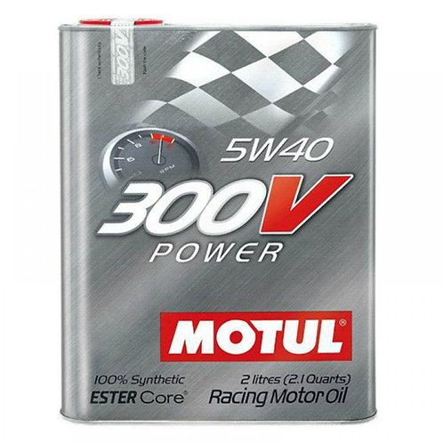 MOTUL 300V POWER 5W40 x2L
