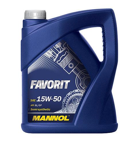 MANNOL FAVORIT 15W50 x5L