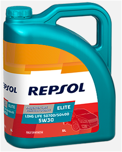 REPSOL ELITE LONG LIFE 50700/50400 5W30 x5L