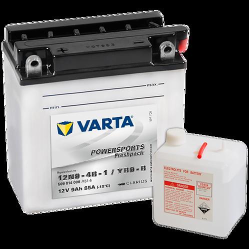 Акумулатор VARTA POWERSPORTS Freshpack 509 014 008 YB9-B