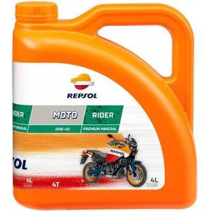 REPSOL MOTO RIDER 4T 10W40 x4L