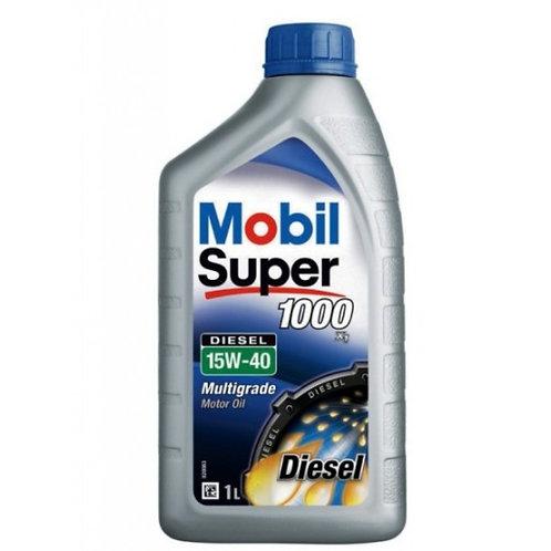MOBIL SUPER 1000 X1 15W40 DIESEL x1L