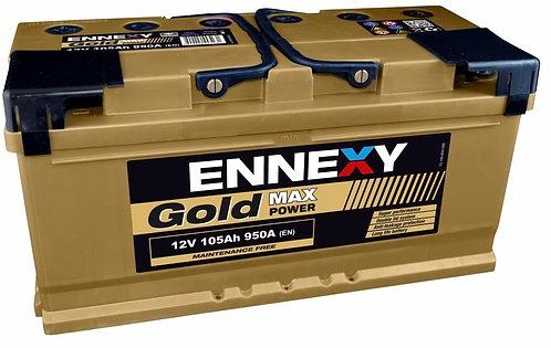 Акумулатор ENNEXY GOLD Max Power 105Ah