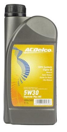 ACDelco 5W30 Supreme Plus Multigrade MS x1L
