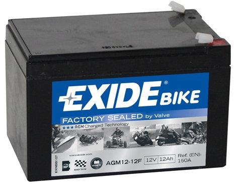 Акумулатор EXIDE Maintenance Free AGM 12-12F