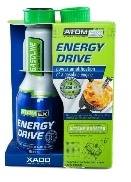 XADO ATOMEX подобрител за бензин 0.250L