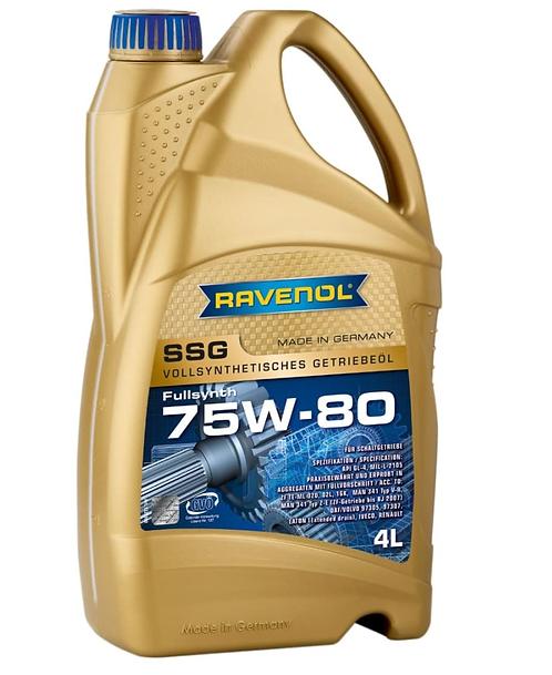 RAVENOL SSG LKW 75W80 x4L