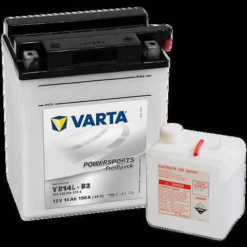 Акумулатор VARTA POWERSPORTS Freshpack 514 013 014 YB14L-B2