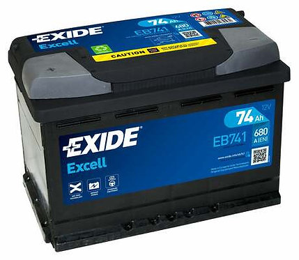 Акумулатор EXIDE Excell ** EB741