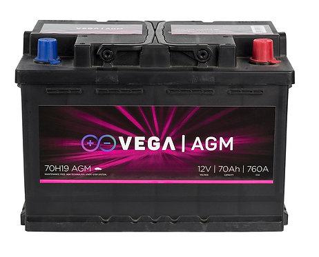 Акумулатор Vega VG AGM 70H19