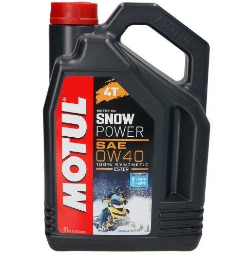 MOTUL SNOWPOWER 4T 0W40 x4L