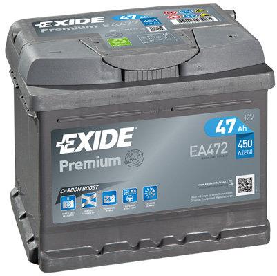 Акумулатор EXIDE Premium *** EA472