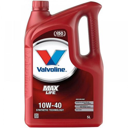 VALVOLINE MAXLIFE 10W40 x5L