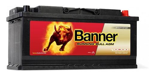 Акумулатор BANNER RUNNING BULL AGM 605 01