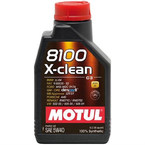 MOTUL 8100 X-CLEAN 5W40 C3 x1L