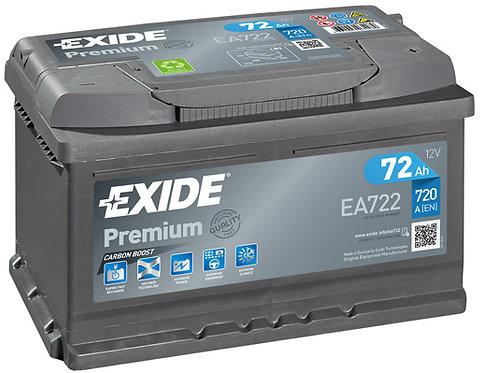 Акумулатор EXIDE Premium *** EA722