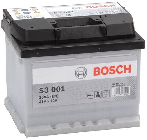Акумулатор BOSCH S3 001