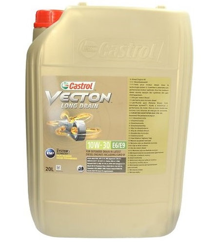 CASTROL VECTION LD 10W30 E6/E9 x20L